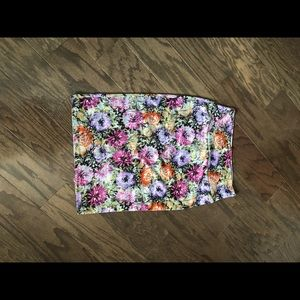 Lularoe Floral Cassie Pencil Skirt Sz M EUC